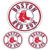 Boston Red Sox MLB Ultimate Car Magnet Kit (3Pc Set)