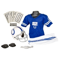Indianapolis Colts Youth NFL Deluxe Helmet and Uniform Set (Medium)