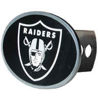 Oakland Raiders NFL Oval Hitch Cover