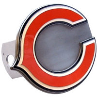 NFL Logo-Cut Hitch Cover - Chicago Bears
