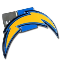 NFL Logo-Cut Hitch Cover - San Diego Chargers