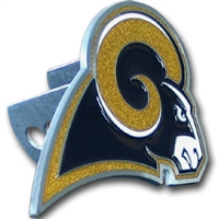 NFL Logo-Cut Hitch Cover - St. Louis Rams