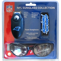 Carolina Panthers NFL Sunglasses Set