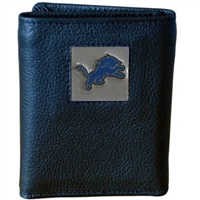 Detroit Lions NFL Trifold Wallet in a Tin