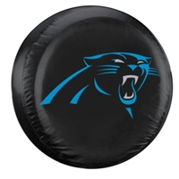 Carolina Panthers NFL Spare Tire Cover (Black)
