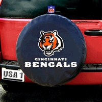 Cincinnati Bengals NFL Spare Tire Cover (Black)