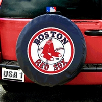 Boston Red Sox MLB Spare Tire Cover (Black)