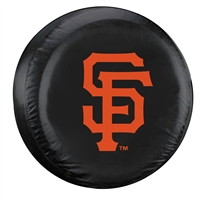 San Francisco Giants MLB Spare Tire Cover (Standard) (Black)