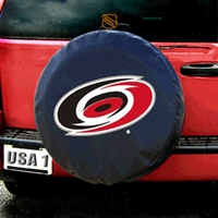 Carolina Hurricanes NHL Spare Tire Cover (Black)