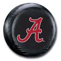 Alabama Crimson Tide NCAA Spare Tire Cover (Black)