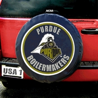 Purdue Boilermakers NCAA Spare Tire Cover (Black)