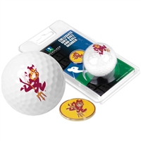 Arizona State Sun Devils Golf Ball w/ Ball Marker