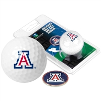 Arizona Wildcats Golf Ball w/ Ball Marker