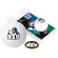Brigham Young Cougars Golf Ball w/ Ball Marker