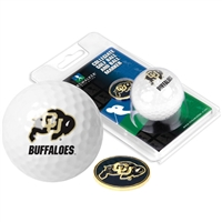 Colorado Buffaloes Golf Ball w/ Ball Marker