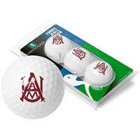 Alabama A&M Bulldogs 3 Golf Ball Sleeve Pack
