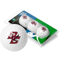 Boston College Eagles 3 Golf Ball Sleeve Pack
