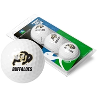 Colorado Buffaloes 3 Golf Ball Sleeve Pack