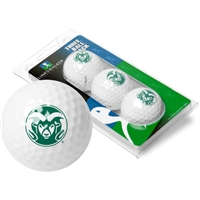 Colorado State Rams 3 Golf Ball Sleeve Pack