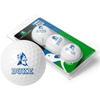 Duke Blue Devils 3 Golf Ball Sleeve Pack