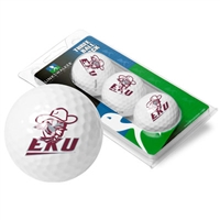 Eastern Kentucky Colonels 3 Golf Ball Sleeve Pack