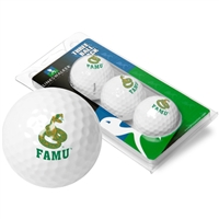 Florida A&M Rattlers 3 Golf Ball Sleeve Pack