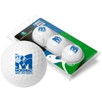 Morehead State University Eagles 3 Golf Ball Sleeve Pack