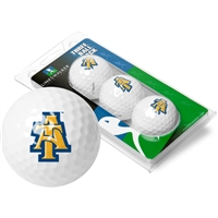North Carolina A&T Aggies 3 Golf Ball Sleeve Pack