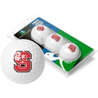 North Carolina State Wolfpack 3 Golf Ball Sleeve Pack