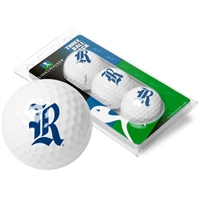Rice University Owls 3 Golf Ball Sleeve Pack