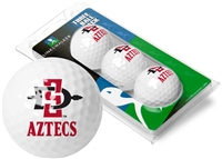 San Diego State Aztecs 3 Golf Ball Sleeve Pack