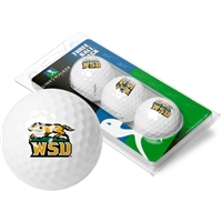 Wright State Raiders 3 Golf Ball Sleeve Pack