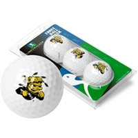 Wichita State Shockers 3 Golf Ball Sleeve Pack