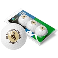 Wyoming Cowboys 3 Golf Ball Sleeve Pack