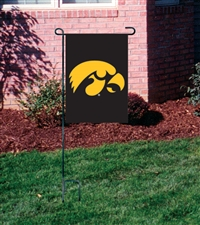 Iowa Hawkeyes Garden Mini Window Flag