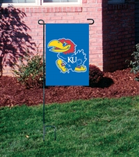 Kansas Jayhawks Garden Mini Window Flag