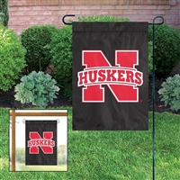 Nebraska Huskers Garden Mini Window Flag