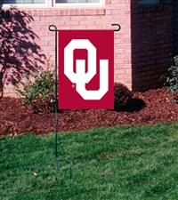 Oklahoma Sooners Garden Mini Window Flag