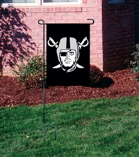 Oakland Raiders NFL Garden Mini Window Flag