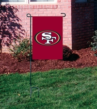 San Francisco 49ers NFL Garden Mini Window Flag