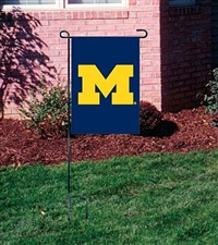 Michigan Wolverines Garden Mini Window Flag