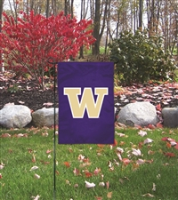Washington Huskies Garden Mini Window Flag