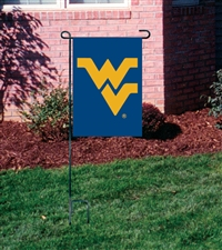 West Virginia Mountaineers Garden Mini Window Flag