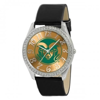 Colorado State Rams Glitz Ladies Watch
