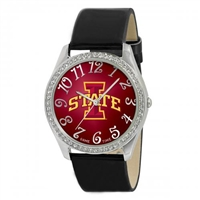 Iowa State Cyclones Glitz Ladies Watch