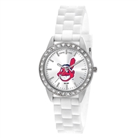 Cleveland Indians MLB Women's Frost Series Watch