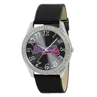 Atlanta Braves MLB Ladies Glitz Series Watch