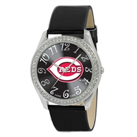 Cincinnati Reds MLB Ladies Glitz Series Watch