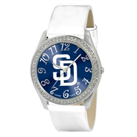 San Diego Padres MLB Ladies Glitz Series Watch