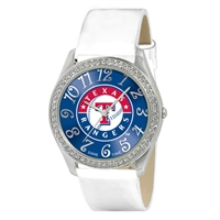 Texas Rangers MLB Ladies Glitz Series Watch